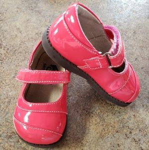 See Kai Run red baby doll shoes,  size 5